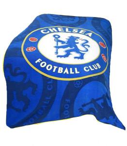 Фото пледа с лого Челси