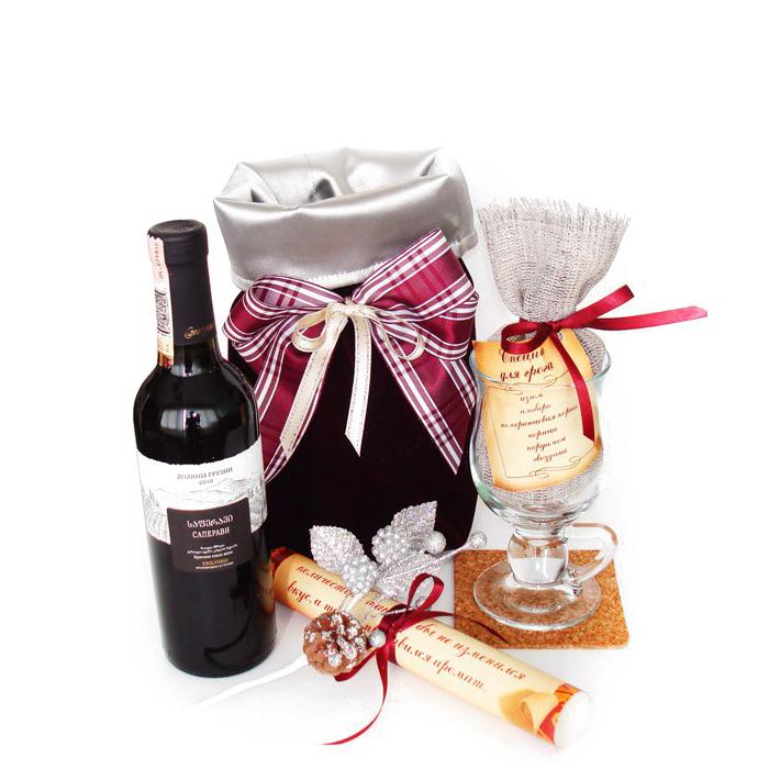Набор с вином в подарок