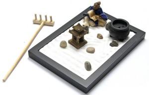 Фото игрушечного сада камней