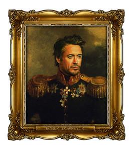Фото стилизованного портрета