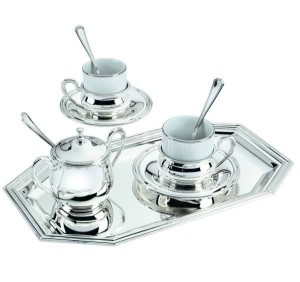Фото серебряного кофейного сервиза