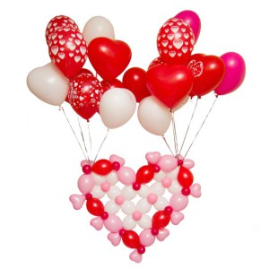 Фото шариков в виде сердца