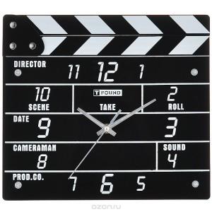 Фото часов в виде кинохлопушки