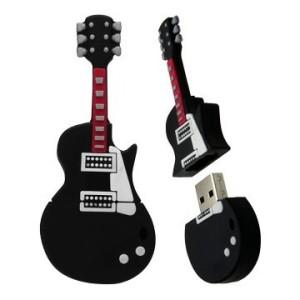 Фото флешки в форме гитары