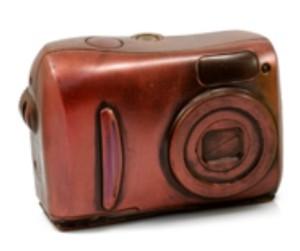 Фото шоколадного фотоаппарата