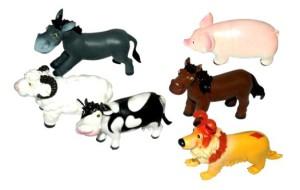 Фото набора с фигурками животных