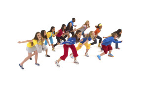 Фото танцующей группы