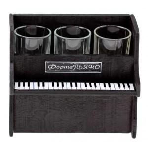 Фото мини-бара в виде фортепиано