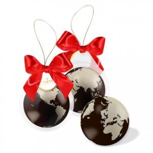 Фото шоколадного глобуса