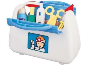 Фото игрушечного набора для игры в доктора