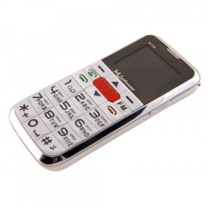 Фото мобильного телефона с большими кнопками