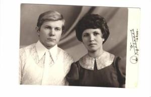 Фото отреставрированной старой фотографии