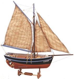 Фото кораблика с парусом