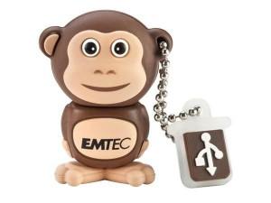 Флешка в виде обезьянки