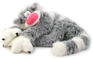 Фото мягкой игрушки кота