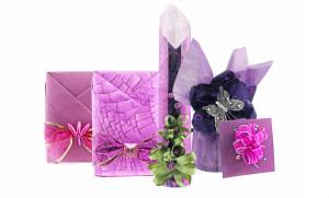 Фото бумажных упаковок для подарков