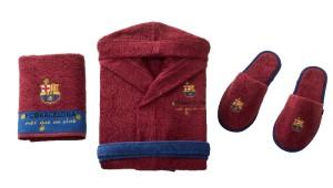 Фото набора халата и тапочек