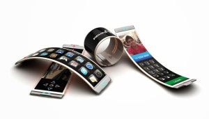 Фото гибких смартфонов