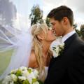 Фото жениха и невесты на свадьбе