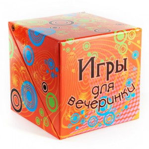 Фото коробки с играми для вечеринок