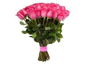 Фото букета розовых роз