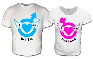 Фото футболок для двоих