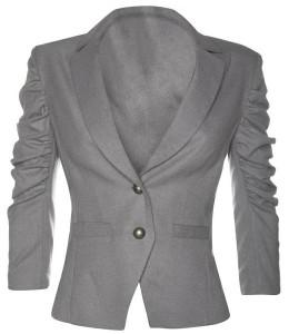 Фото сірого піджака