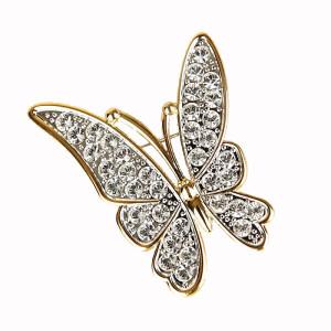 Фото броши в виде бабочки