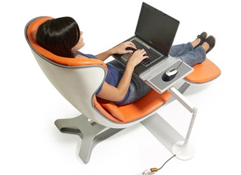 Кресло-столик для ноутбука