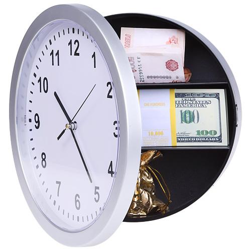 Настенные часы-тайник